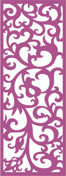 Laser Cut Decorative Screens Seamless Free CDR Vectors Art