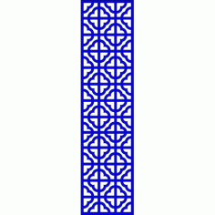 Cnc Panel Laser Cut Pattern File cn-l640 Free CDR Vectors Art