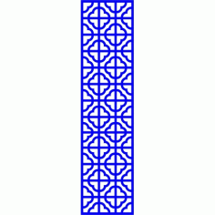Cnc Panel Laser Cut Pattern File cn-l641 Free CDR Vectors Art