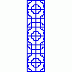 Cnc Panel Laser Cut Pattern File cn-l642 Free CDR Vectors Art