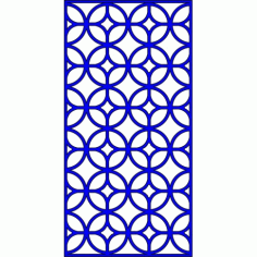 Cnc Panel Laser Cut Pattern File cn-l648 Free CDR Vectors Art