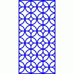 Cnc Panel Laser Cut Pattern File cn-l649 Free CDR Vectors Art