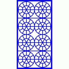 Cnc Panel Laser Cut Pattern File cn-l651 Free CDR Vectors Art