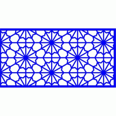 Cnc Panel Laser Cut Pattern File cn-l652 Free CDR Vectors Art