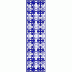 Cnc Panel Laser Cut Pattern File cn-l658 Free CDR Vectors Art