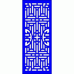 Cnc Panel Laser Cut Pattern File Cn l660 Free CDR Vectors Art