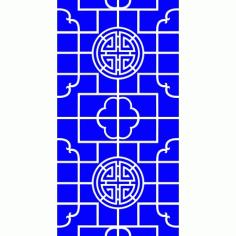 Cnc Panel Laser Cut Pattern File Cn m09 Free CDR Vectors Art