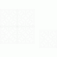 Cnc Panel Laser Cut Pattern File Cn m19 Free CDR Vectors Art