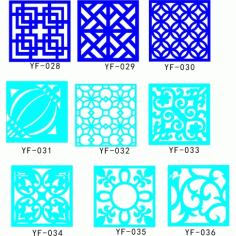 Cnc Panel Laser Cut Pattern File q4 Free CDR Vectors Art