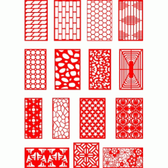 Cnc Panel Laser Cut Pattern File q14 Free CDR Vectors Art