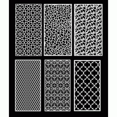 Cnc Panel Laser Cut Pattern File q16 Free CDR Vectors Art