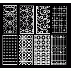Cnc Panel Laser Cut Pattern File q17 Free CDR Vectors Art