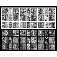 Cnc Panel Laser Cut Pattern File q37 Free CDR Vectors Art