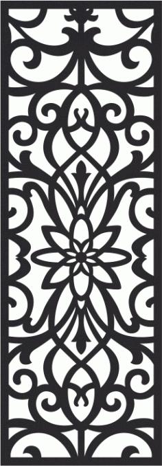 Laser Cut Seamless Pattern-044 Free CDR Vectors Art