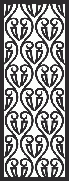 Laser Cut Seamless Pattern-017 Free CDR Vectors Art