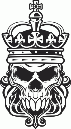 Skull King Free CDR Vectors Art