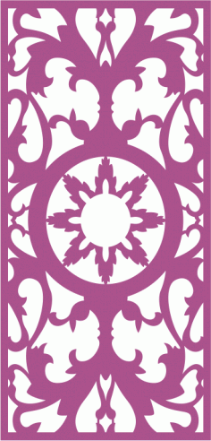 Laser Cut Panel Pattern Free CDR Vectors Art