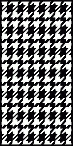 Houndstooth Seamless Pattern Free CDR Vectors Art