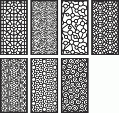 Geometric Motifs Repeating Pattern Free CDR Vectors Art