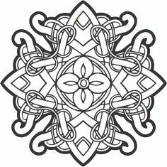 Celtic Ornament Decor Free CDR Vectors Art