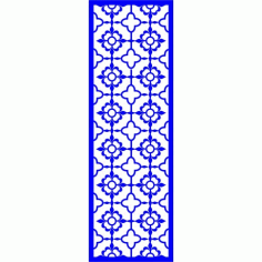 Cnc Panel Laser Cut Pattern File cn-l639 Free CDR Vectors Art