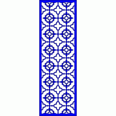 Cnc Panel Laser Cut Pattern File cn-l638 Free CDR Vectors Art