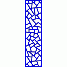 Cnc Panel Laser Cut Pattern File cn-l637 Free CDR Vectors Art