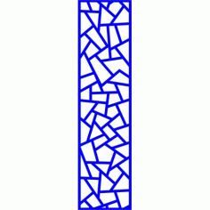 Cnc Panel Laser Cut Pattern File cn-l636 Free CDR Vectors Art
