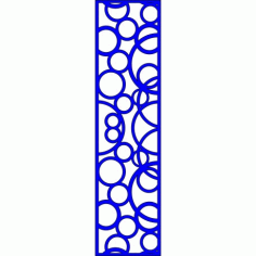 Cnc Panel Laser Cut Pattern File cn-l635 Free CDR Vectors Art