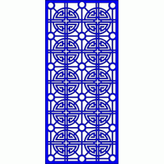 Cnc Panel Laser Cut Pattern File cn-l628 Free CDR Vectors Art