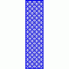 Cnc Panel Laser Cut Pattern File cn-l627 Free CDR Vectors Art