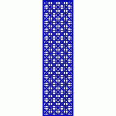 Cnc Panel Laser Cut Pattern File cn-l626 Free CDR Vectors Art