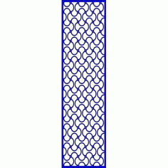Cnc Panel Laser Cut Pattern File cn-l624 Free CDR Vectors Art