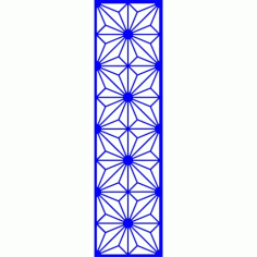 Cnc Panel Laser Cut Pattern File cn-l621 Free CDR Vectors Art