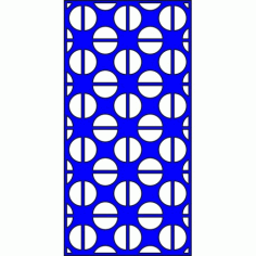 Cnc Panel Laser Cut Pattern File cn-l614 Free CDR Vectors Art