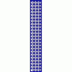 Cnc Panel Laser Cut Pattern File cn-l605 Free CDR Vectors Art