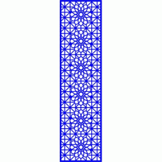 Cnc Panel Laser Cut Pattern File cn-l604 Free CDR Vectors Art