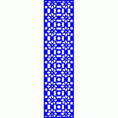 Cnc Panel Laser Cut Pattern File cn-l597 Free CDR Vectors Art