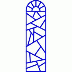 Cnc Panel Laser Cut Pattern File cn-l595 Free CDR Vectors Art