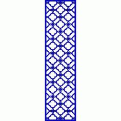 Cnc Panel Laser Cut Pattern File cn-l592 Free CDR Vectors Art