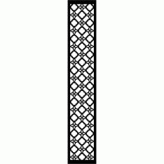 Cnc Panel Laser Cut Pattern File cn-l589 Free CDR Vectors Art