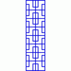 Cnc Panel Laser Cut Pattern File cn-l587 Free CDR Vectors Art