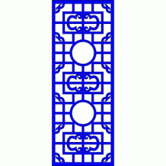 Cnc Panel Laser Cut Pattern File cn-l586 Free CDR Vectors Art