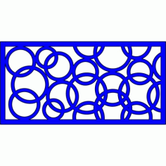 Cnc Panel Laser Cut Pattern File cn-l561 Free CDR Vectors Art
