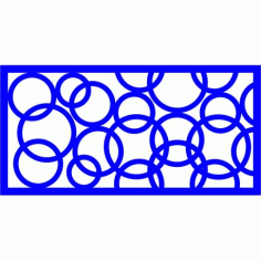 Cnc Panel Laser Cut Pattern File cn-l560 Free CDR Vectors Art