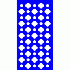 Cnc Panel Laser Cut Pattern File cn-l558 Free CDR Vectors Art