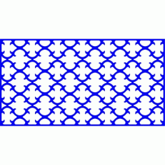 Cnc Panel Laser Cut Pattern File cn-l554 Free CDR Vectors Art