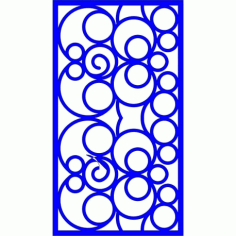 Cnc Panel Laser Cut Pattern File cn-l552 Free CDR Vectors Art