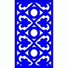Cnc Panel Laser Cut Pattern File cn-l551 Free CDR Vectors Art