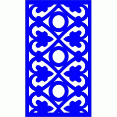 Cnc Panel Laser Cut Pattern File cn-l550 Free CDR Vectors Art
